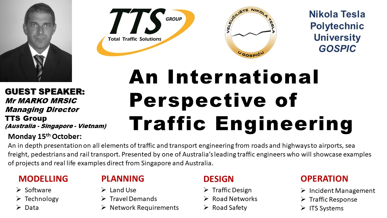 An international perspective of traffic engineering