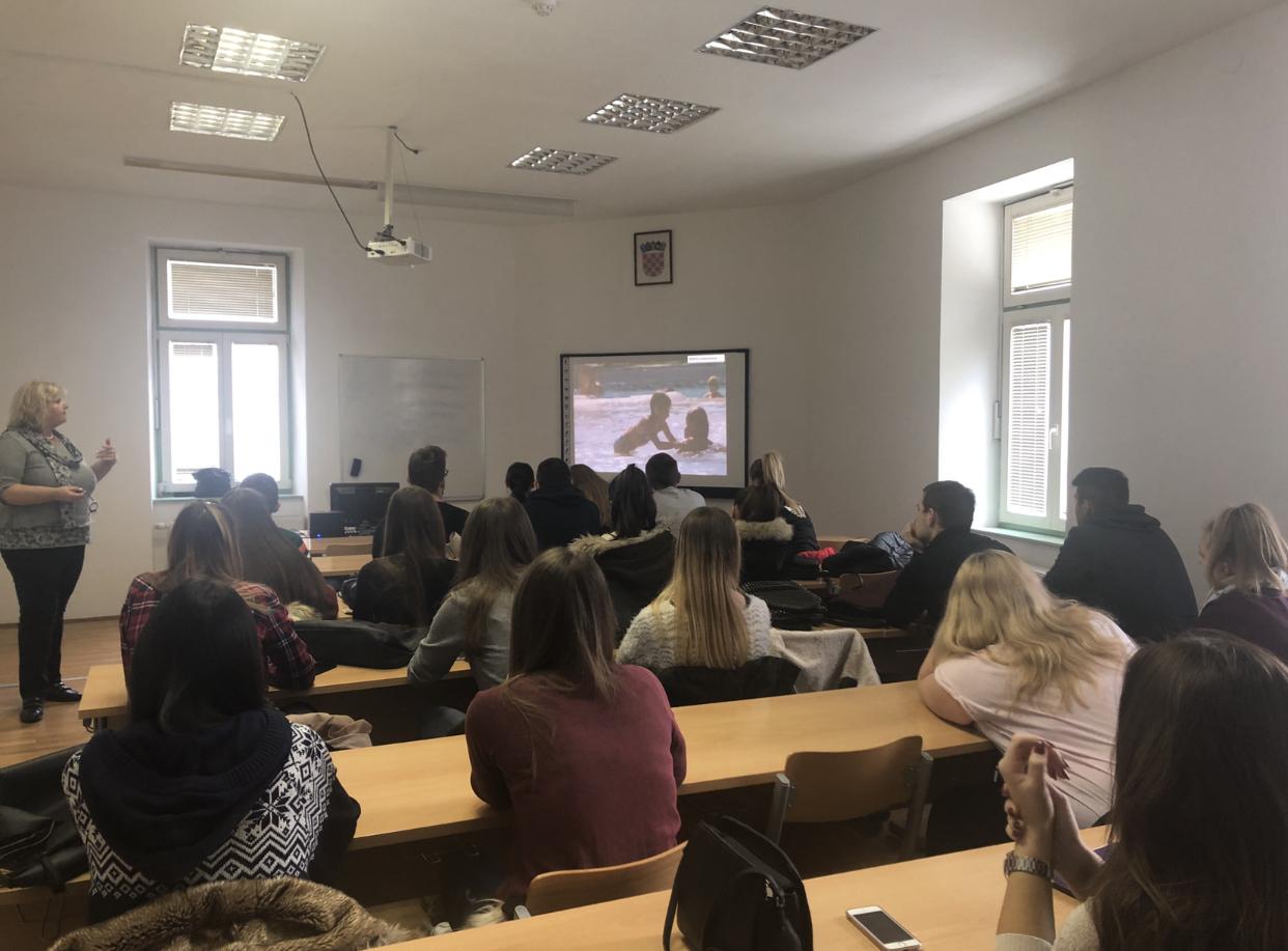 Stručnjakinja iz Kamping udruge Hrvatske studentima održala predavanje na temu kampinga