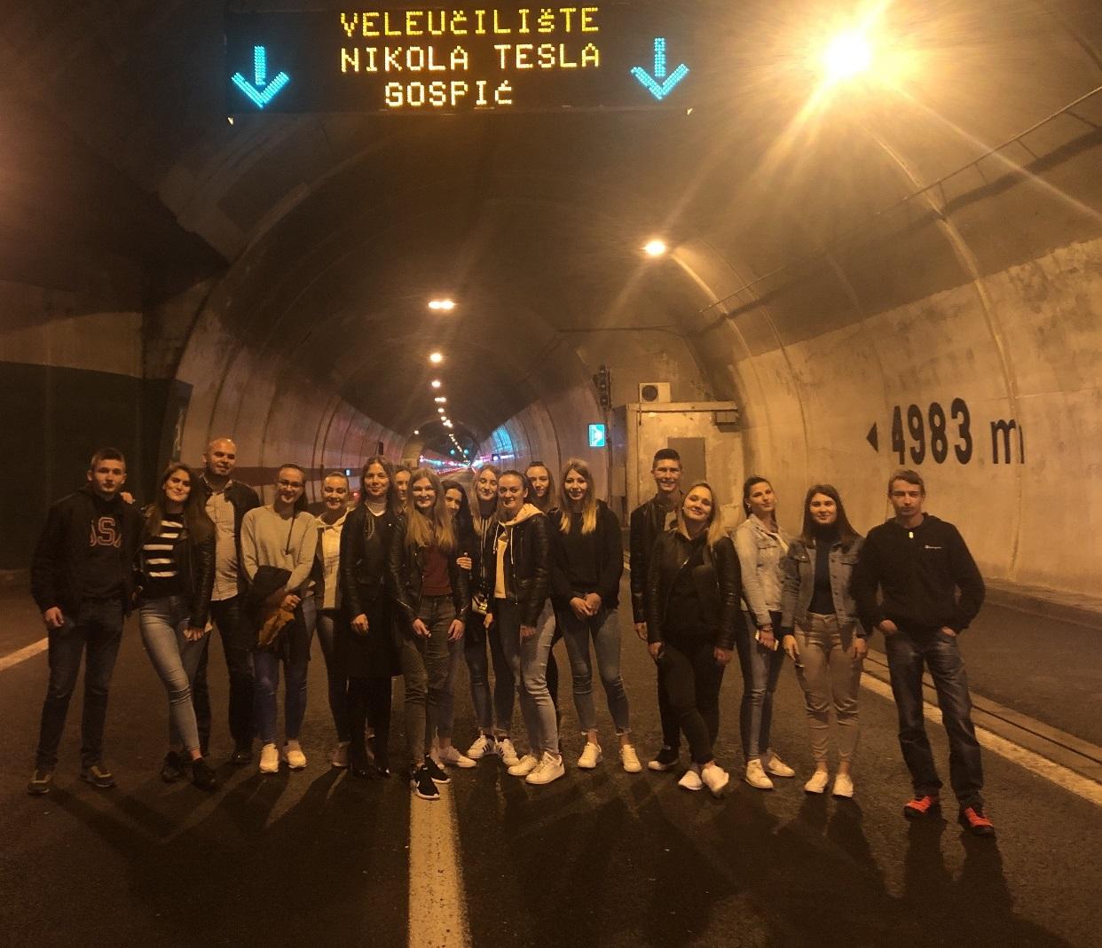 Posjeta HAC-U: Studenti saznali sve o upravljanju tunelima i autocestom!