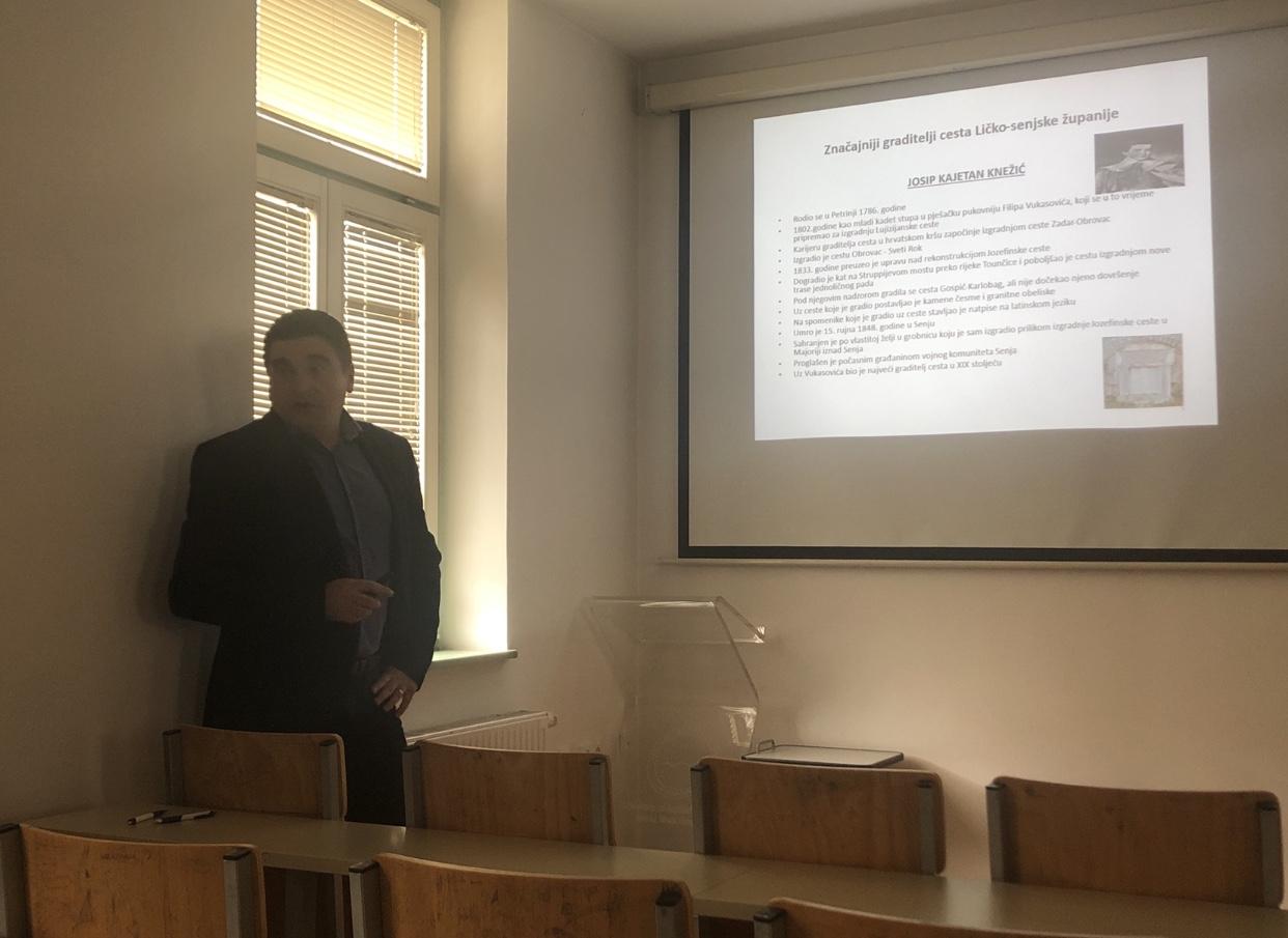 Održano pozvano predavanje o izgradnji i održavanju cesta u Ličko-senjskoj županiji