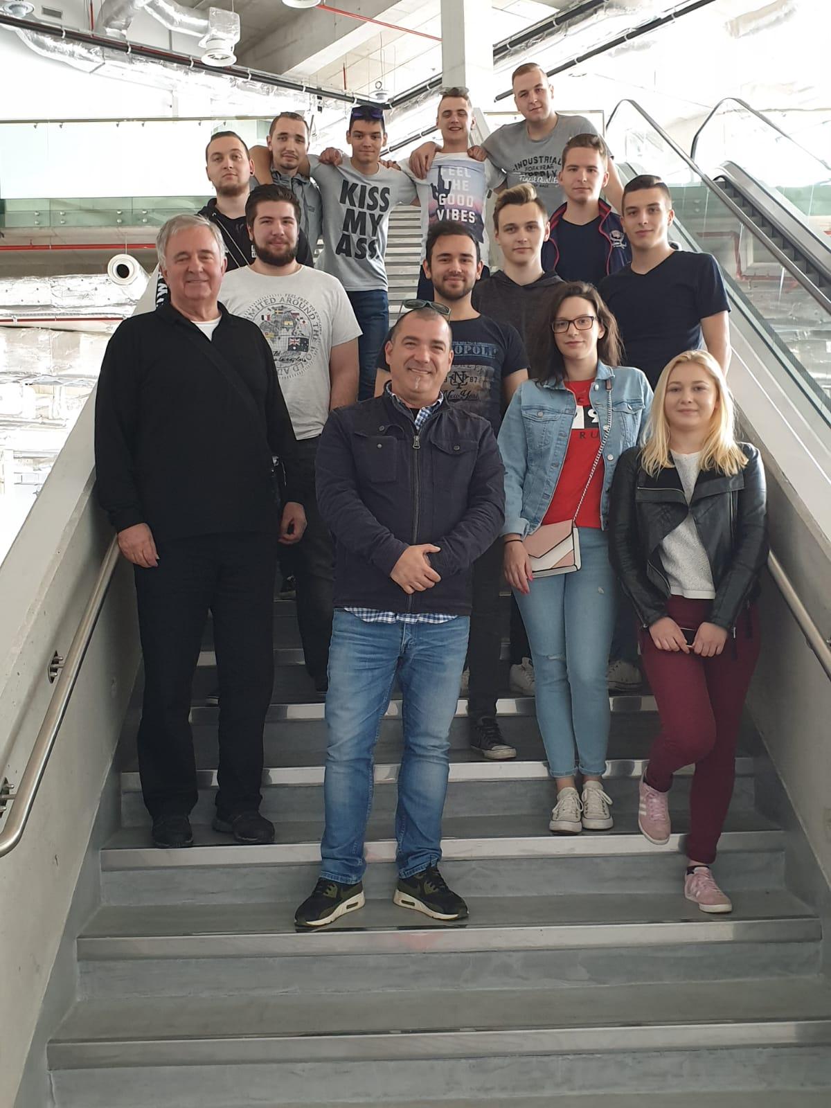 Studenti cestovnog prometa posjetili novootvoreni putnički terminal Gaženica