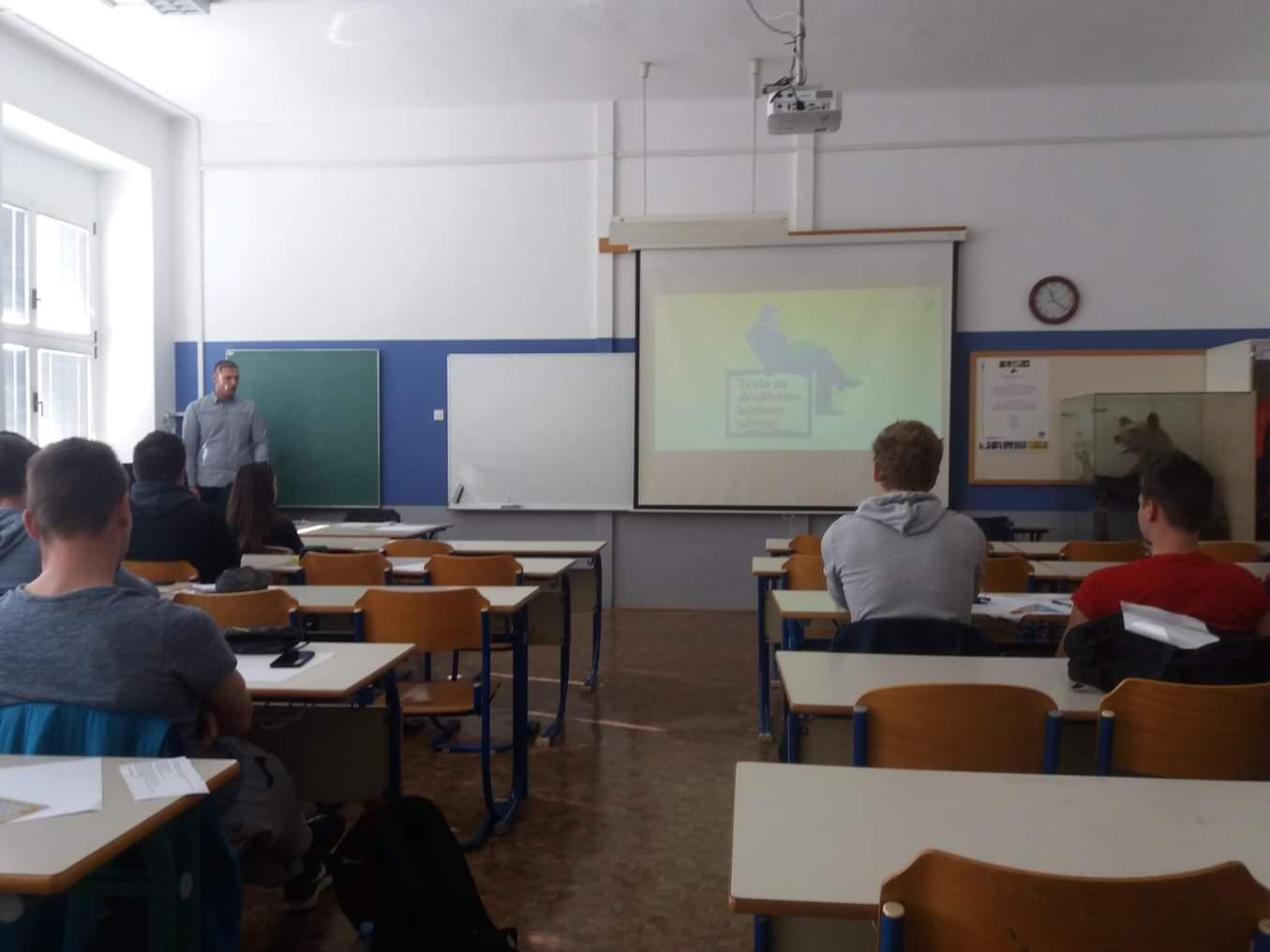 ERASMUS+ Djelatnici Veleučilišta na razmjeni u Postojni!