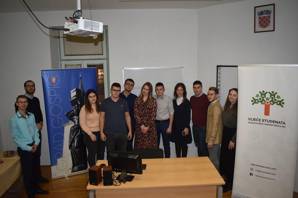 """Vijeće studenata veleučilišta i visokih učilišta RH održalo svoju sjednicu na Veleučilištu """"Nikola Tesla"""""""