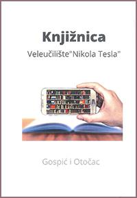 Promo letak - knjižnica Veleučilišta Nikola Tesla u Gospiću